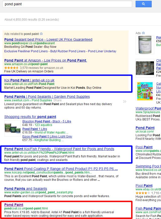 Pond Coat - Web Design Store